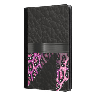 ファンシーなピンクのチータ iPad AIRケース