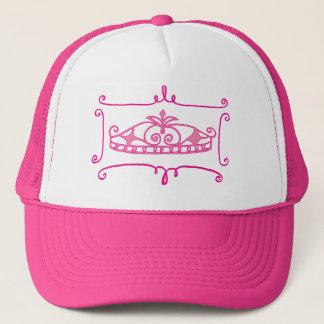 ファンシーなピンクのティアラの帽子 キャップ