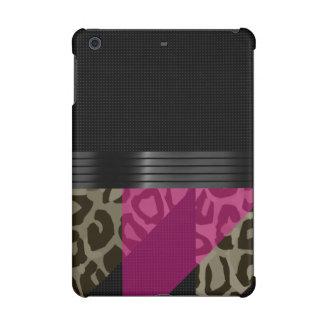 ファンシーなピンクの黒いチータ