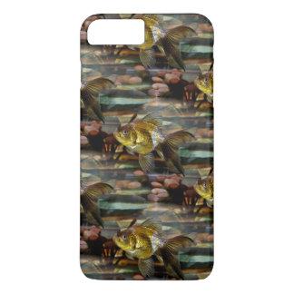 ファンシーなファンテールの金魚 iPhone 8 PLUS/7 PLUSケース