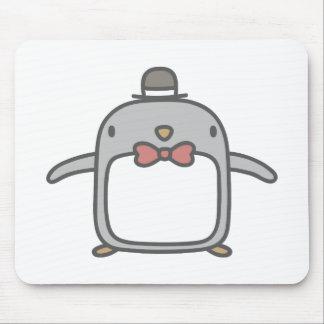 ファンシーなペンギン マウスパッド