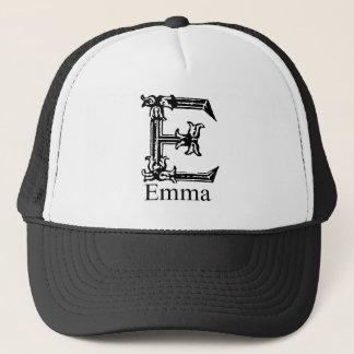 ファンシーなモノグラム: エマ キャップ