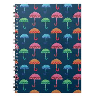 ファンシーな傘 ノートブック