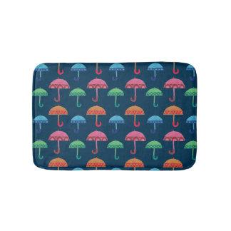 ファンシーな傘 バスマット