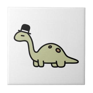 ファンシーな恐竜 タイル