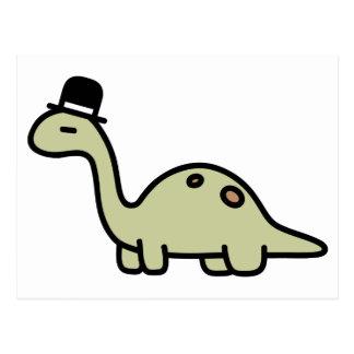 ファンシーな恐竜 ポストカード