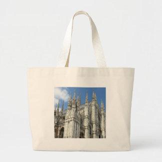 ファンシーな教会尖塔 ラージトートバッグ