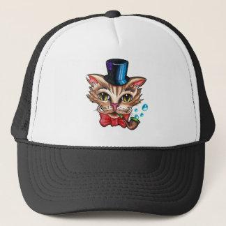 ファンシーな猫 キャップ