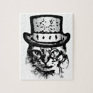 ファンシーな猫 ジグソーパズル