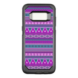 ファンシーな種族のボーダーパターン08ピンク(I) オッターボックスコミューターSamsung GALAXY S8 ケース