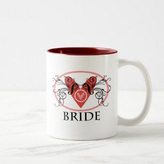 ファンシーな花嫁 ツートーンマグカップ