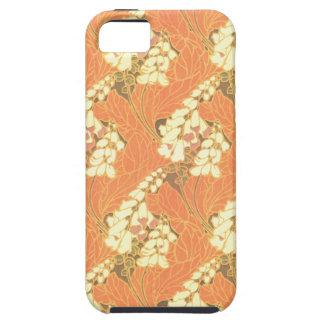 ファンシーな花柄 iPhone SE/5/5s ケース