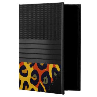 ファンシーな蛍光黄橙色のチータ POWIS iPad AIR 2 ケース