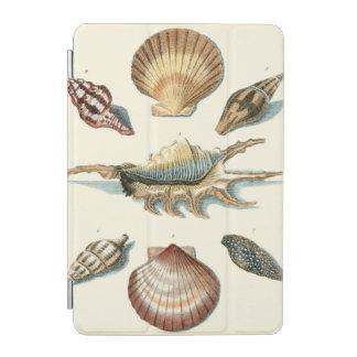 ファンシーな貝のビーチ iPad MINIカバー