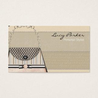 ファンシーな財布の名刺 名刺