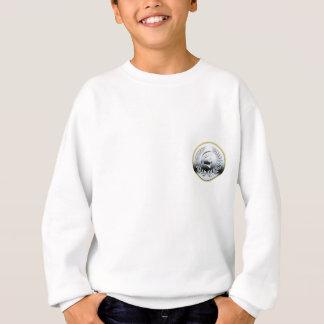 ファンシーな金属スパルタ式のロゴ#2 (小さい) スウェットシャツ