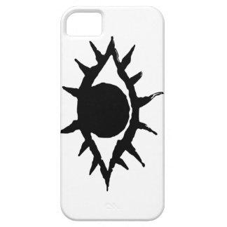 ファンシーな黒い瞳 iPhone 5 CASE