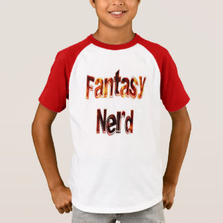 ファンタジーのおたくの火 Tシャツ