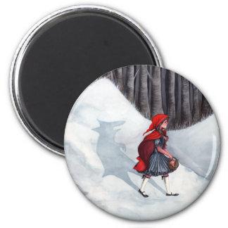 ファンタジーのおとぎ話の芸術の磁石-中オオカミ マグネット