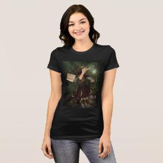 ファンタジーのイラストレーション: 鬼の女性 Tシャツ