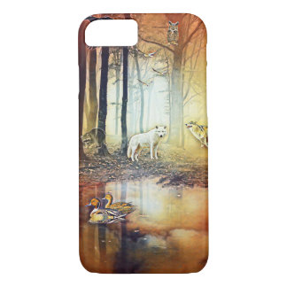 ファンタジーのオオカミの森林iPhone 8/7の電話箱 iPhone 8/7ケース
