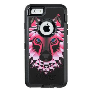 ファンタジーのオオカミ オッターボックスディフェンダーiPhoneケース