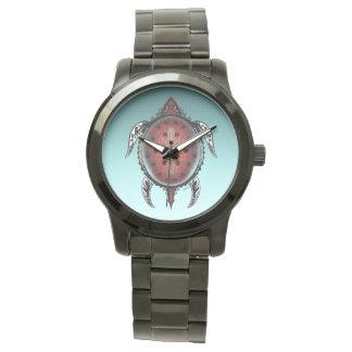 ファンタジーのカメの入れ墨 腕時計