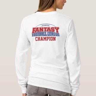 ファンタジーのサッカー連盟のチャンピオン Tシャツ