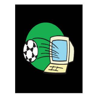 ファンタジーのサッカー ポストカード
