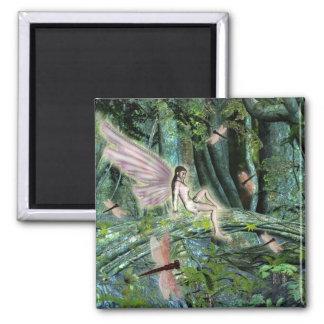 ファンタジーのトンボの妖精の磁石 マグネット