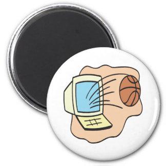 ファンタジーのバスケットボール マグネット