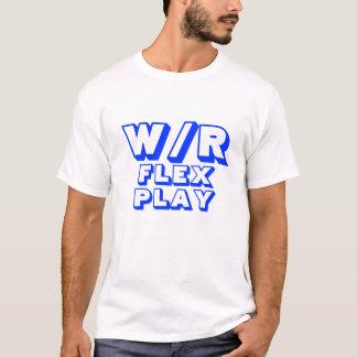 ファンタジーのフットボールの屈曲の演劇 Tシャツ