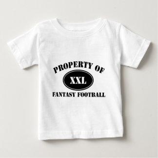 ファンタジーのフットボールの特性 ベビーTシャツ