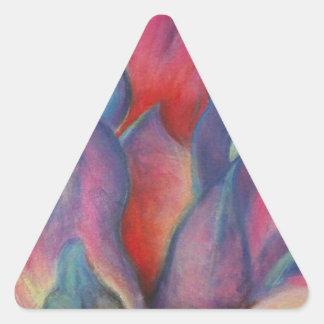 ファンタジーのプロテア 三角形シール