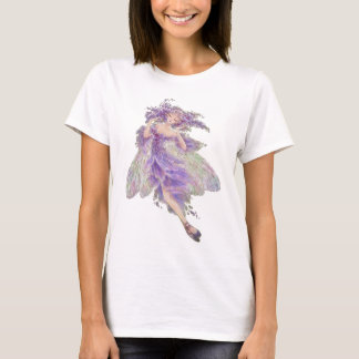 ファンタジーのベビードールのTシャツ-藤 Tシャツ