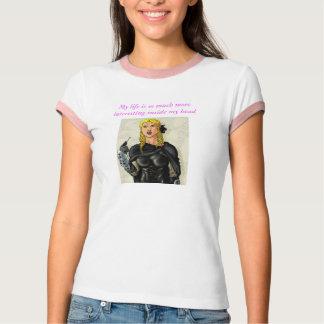 ファンタジーのメスのElfenの悪党 Tシャツ