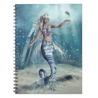 ファンタジーの人魚のノート ノートブック