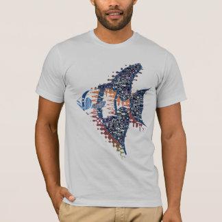 ファンタジーの天使の魚のTシャツ Tシャツ