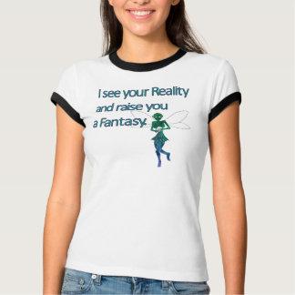 ファンタジーの妖精 Tシャツ