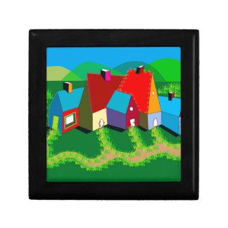 ファンタジーの景色のギフト用の箱 ギフトボックス