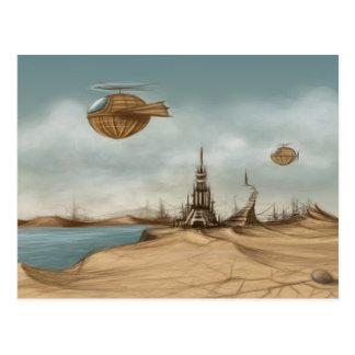 ファンタジーの景色 ポストカード