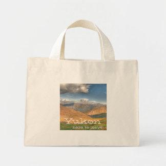 ファンタジーの景色; ユーコン準州領域の記念品 ミニトートバッグ