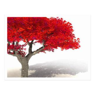 ファンタジーの木の郵便はがき|のTシャツ、マグのデジタル芸術 ポストカード
