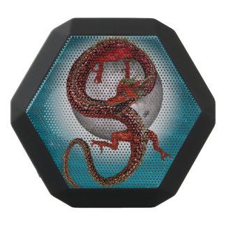 ファンタジーの東の赤いドラゴン ブラックBluetoothスピーカー