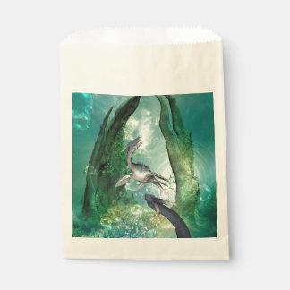 ファンタジーの水中世界の素晴らしいseadragon フェイバーバッグ