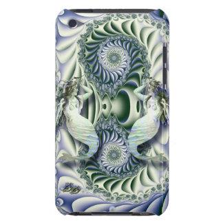 ファンタジーの海のヴィンテージの人魚 Case-Mate iPod TOUCH ケース