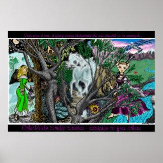 ファンタジーの王国ポスター ポスター