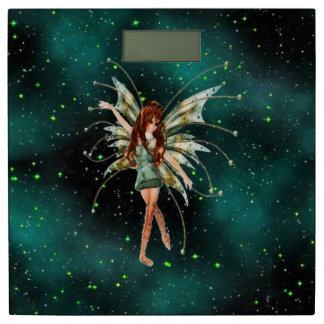 ファンタジーの緑の妖精の体重計 体重計