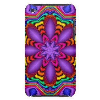 ファンタジーの花との装飾的で抽象的な場合 Case-Mate iPod TOUCH ケース