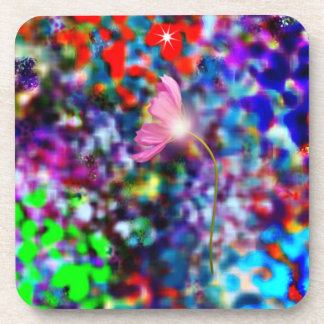 ファンタジーの花の芸術のコルクのコースター コースター